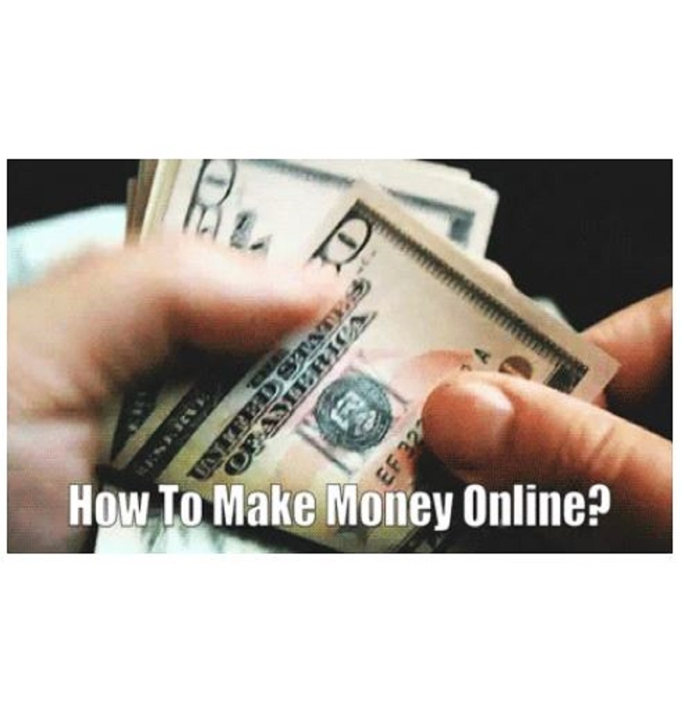 Ever wondered how you can make money online?