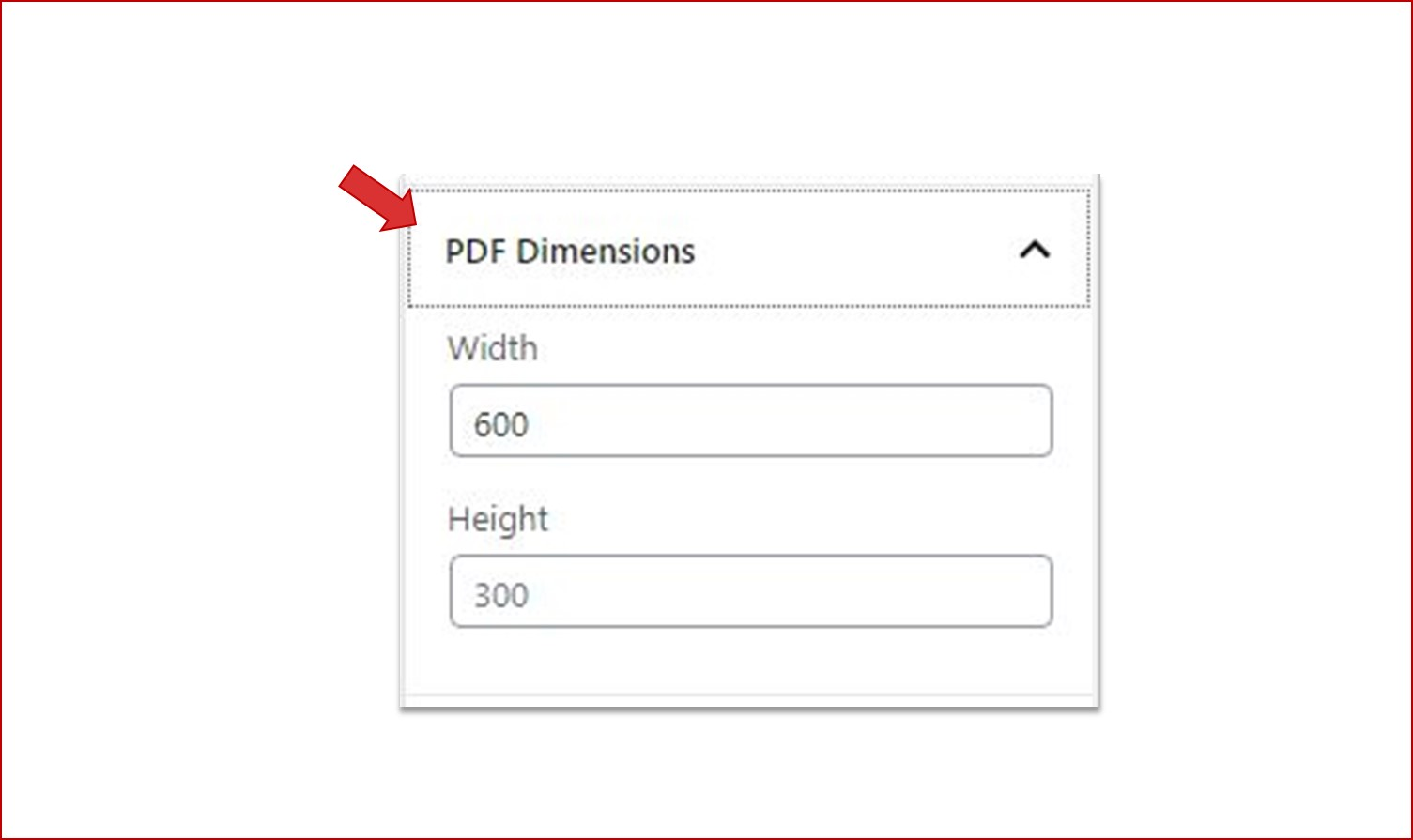 Adjusting PDF Dimensions for PDF Viewer