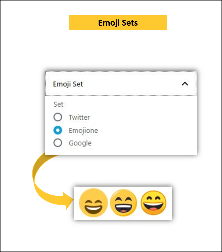 wordpress gutenberg plugin emoji set