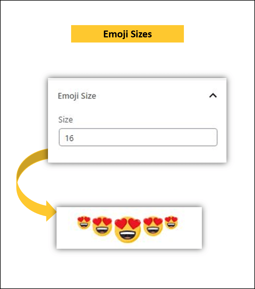 wordpress gutenberg plugin emoji size