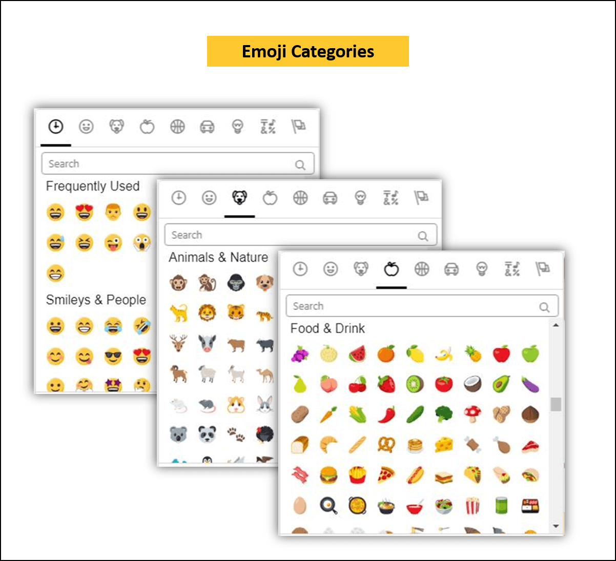 wordpress gutenberg plugin emoji picker categories