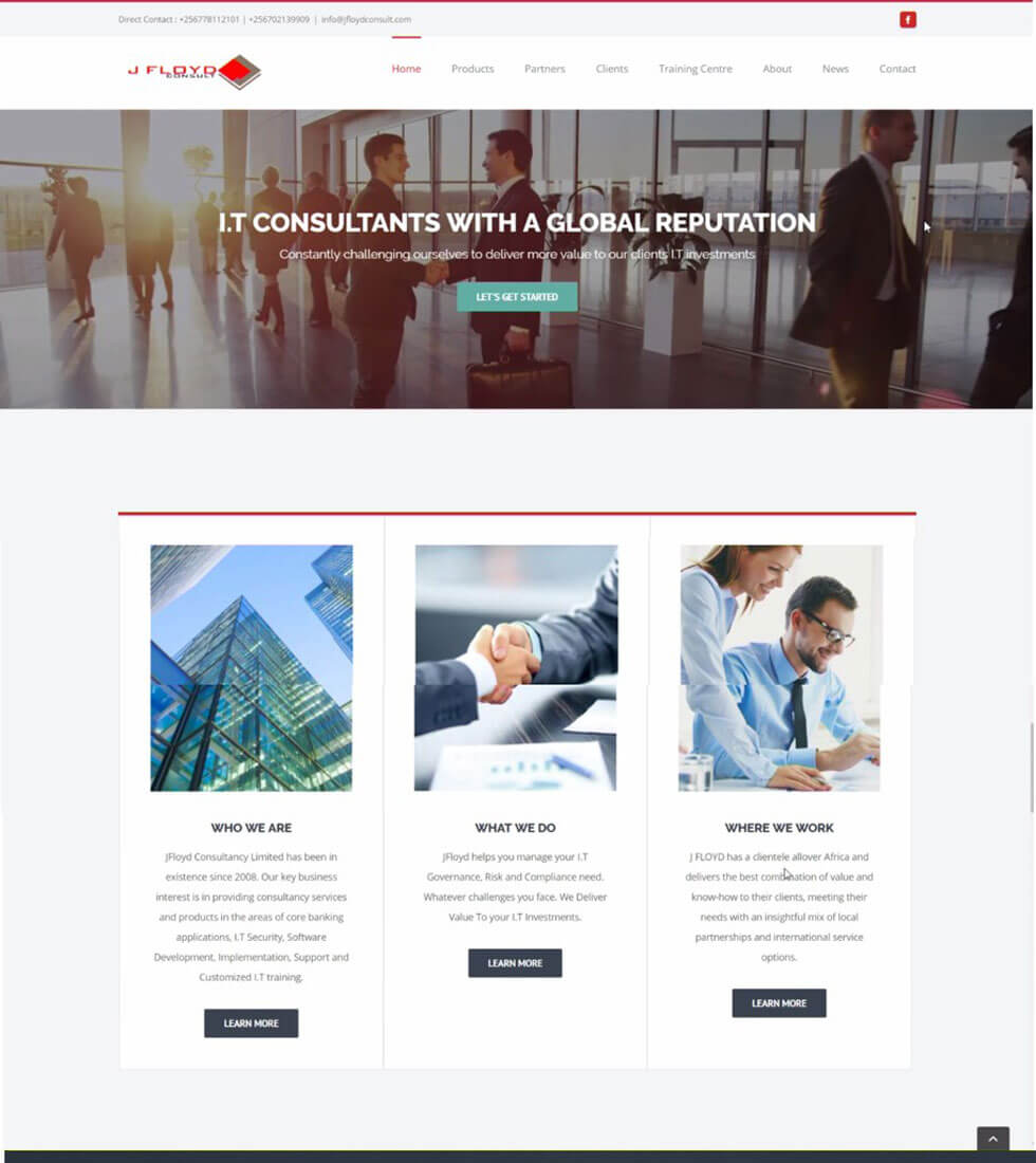 JFloyd Consult Corporate Company Website