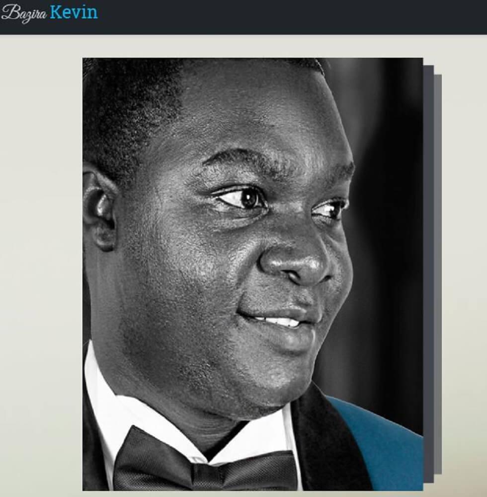 KevinBazira.com Creative Portfolio Website